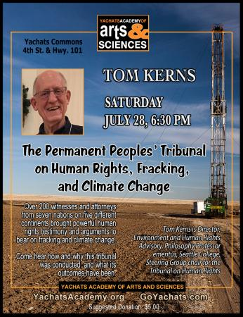 The Permanent Peoples' Tribunal Session on Human Rights, Fracking and Climate Change